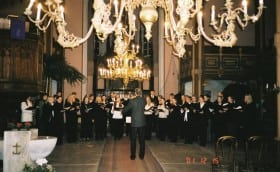 Jõulukontsert koos Tallinna Kammerkooriga Viljandis