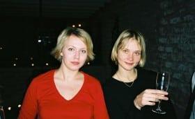 Mari-Liis and Heidi