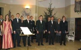 Choir 37th anniversary in Glehn Castle,11th December 2003