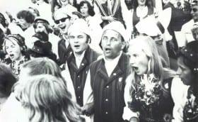 Student Song Festival in Tartu, 1974 (?)