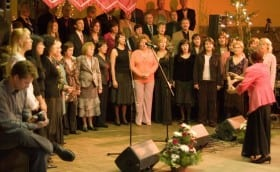 Choir 40th Anniversary Concert in Glehn Castle, 11th December 2006