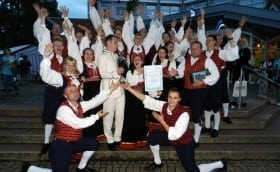After award ceremony in Germany, Miltenberg