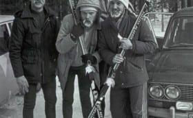 Tallinna maratonil, veebruar 1986