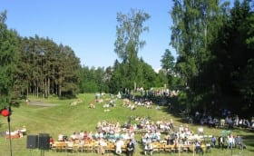 Mixed Choirs Singing Day in Alatskivi 18th June 2005