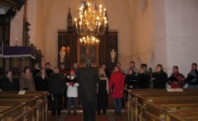 Advent Church service Ambla Church 19th December 2004