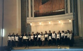 Estonia Concert Hall, concert in honor of G. Ernesaks 7.th December 1996