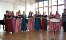 Estonaian Independence Day concert in the House of Black Heads with Chamber Choir Tallinn
