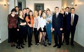 KK järjekordne aastapäev Glehni lossis 11.detsember 2000