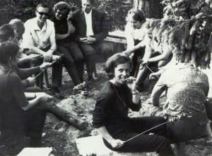 Hooajalõpu lõkkeõhtu aastal 1969