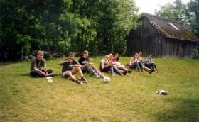 Summercamp at Kihnu Island 20th-22nd June 2003