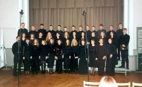 Mixed and Chamber Choir Competition of Estonia, in Tartu 26. Feb 2000