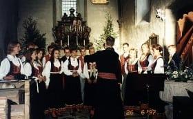 Gotland, performing at  Follo church
