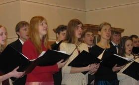Christmas concert in Tallinn Bethel Church 17th December 2004