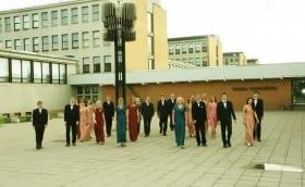 Pildistamissessioon TTÜ-s 11. juunil 2004