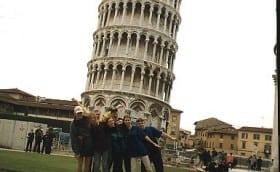 Pisa torn, Itaalia, aprill 1998