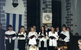 TTÜKK 30. anniversary. 11.th December 1996,Tallinn Town Hall