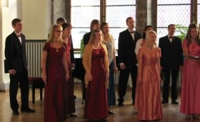 Valentine's Day 12.02.2005 in the House of Black Heads with Tallinn Chamber Choir