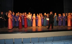 Valentine's Day 12.02.2005 in the Culture House of Paide with Tallinn Chamber Choir