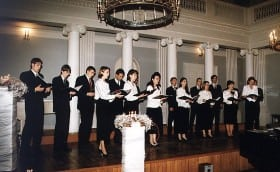 Singing Day, Gala Concert in Tartu University assembly hall