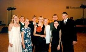 Performing at TUT ball, 30th November 2001